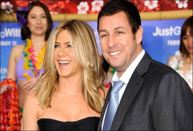 Adam Sandler y Jennifer Aniston