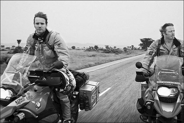 Ewan McGregor motos