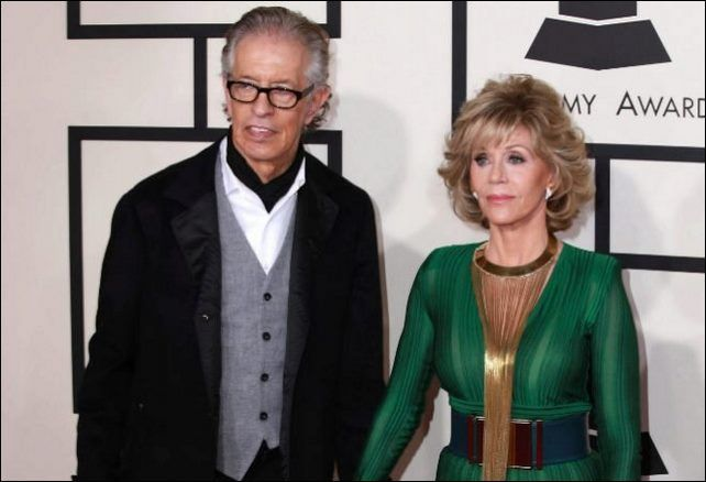 Jane Fonda y Richard Perry