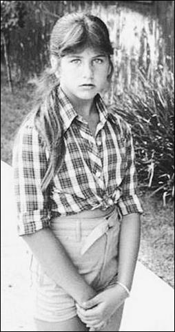 Jennifer Aniston niña