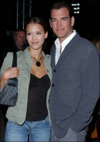 Jessica Alba y Michael Weatherly