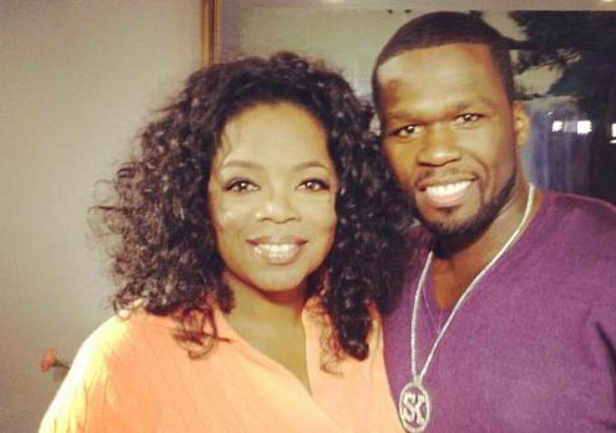 50 Cent accuses Oprah Winfrey of going after only Black men accused of sexual assault while being lenient with the White men (photos)